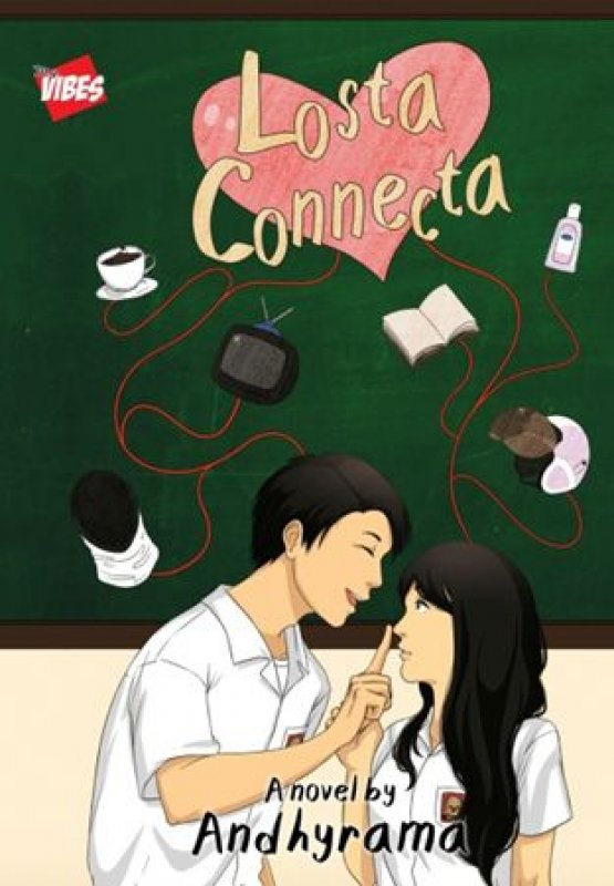 Cover Buku Losta Connecta