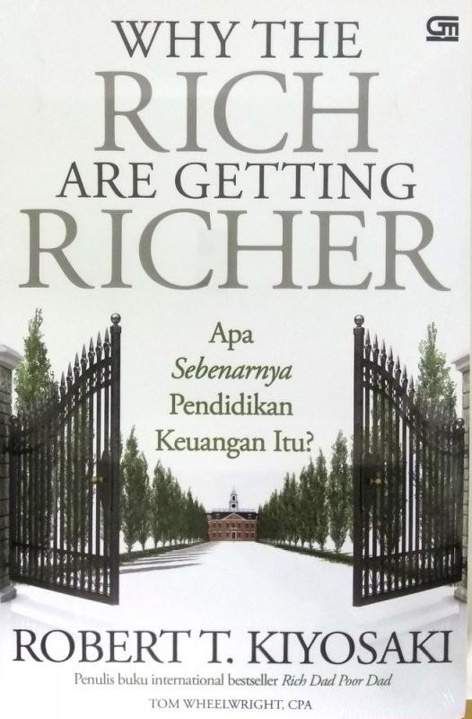 Cover Buku Why The Rich Are Getting Richer