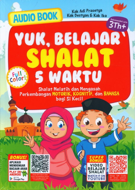 Cover Buku Yuk Belajar Shalat 5 Waktu (Full Color)