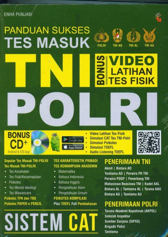 Cover Buku Panduan Sukses TEs Masuk TNI POLRI