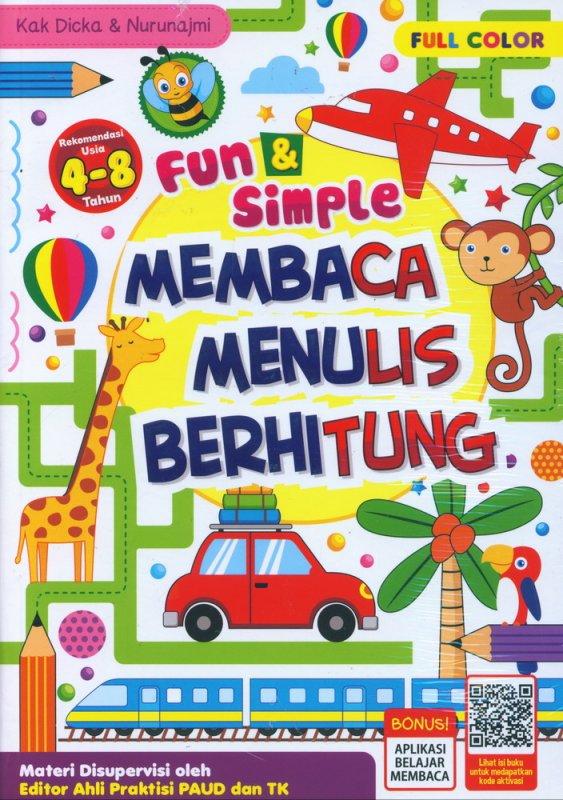 Cover Buku Fun & Simple Membaca Menulis Berhitung