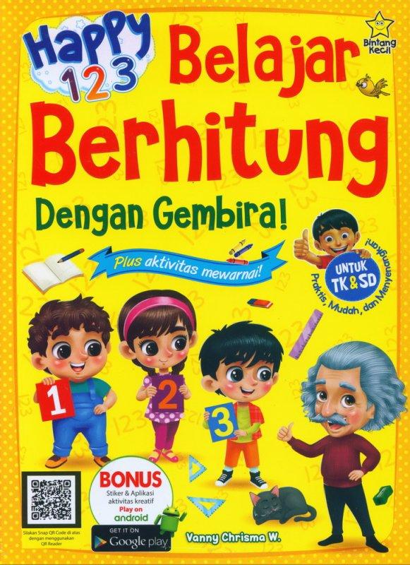 Cover Buku Happy 123 Belajar Berhitung Dengan Gembira
