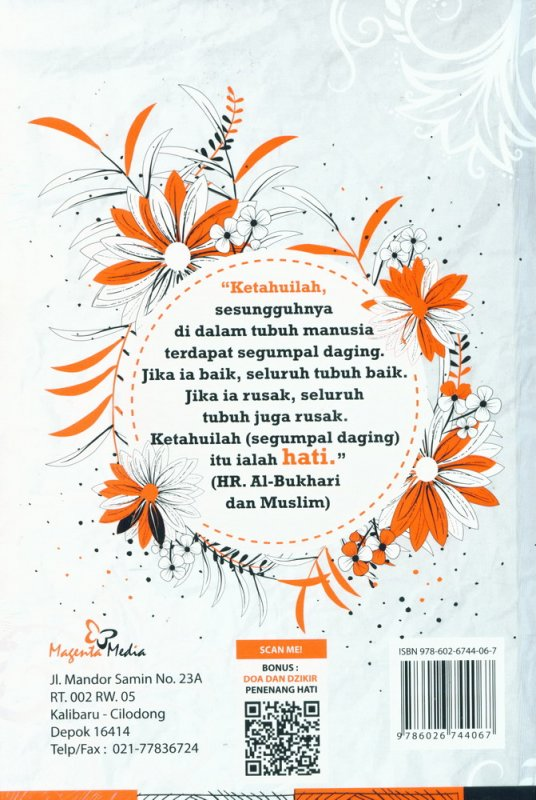 Cover Belakang Buku Sekolah Hati (Hard Cover)