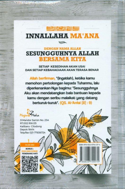 Cover Belakang Buku INNALLAHA MA'ANA