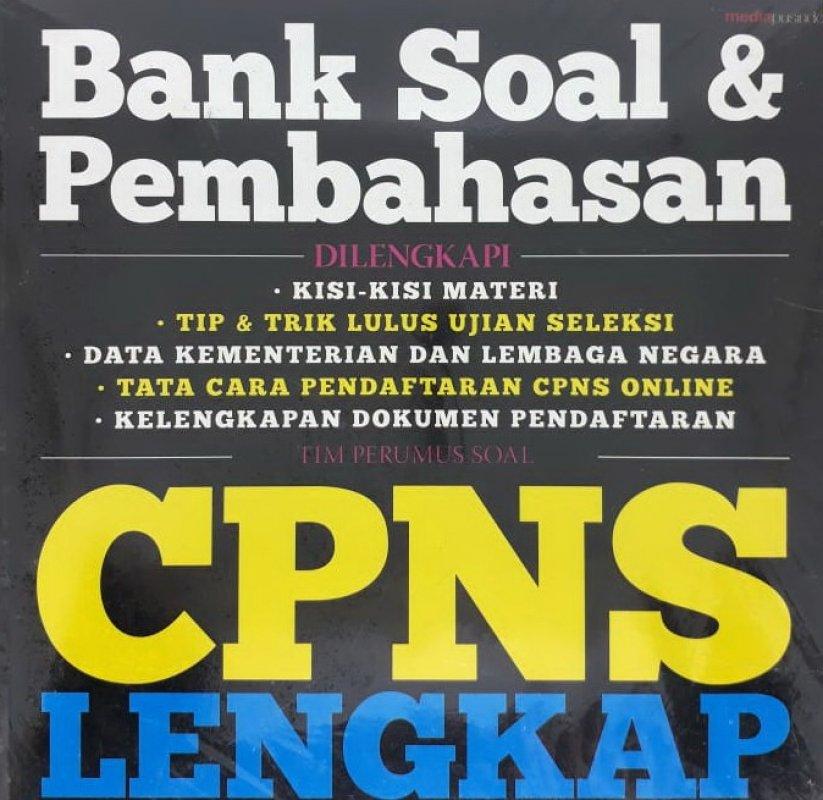 Cover Buku Bank Soal & Pembahasan CPNS Lengkap