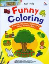 Funny Coloring (Mengenal, Mewarnai, & Menempel Stiker Buah dan Sayur)