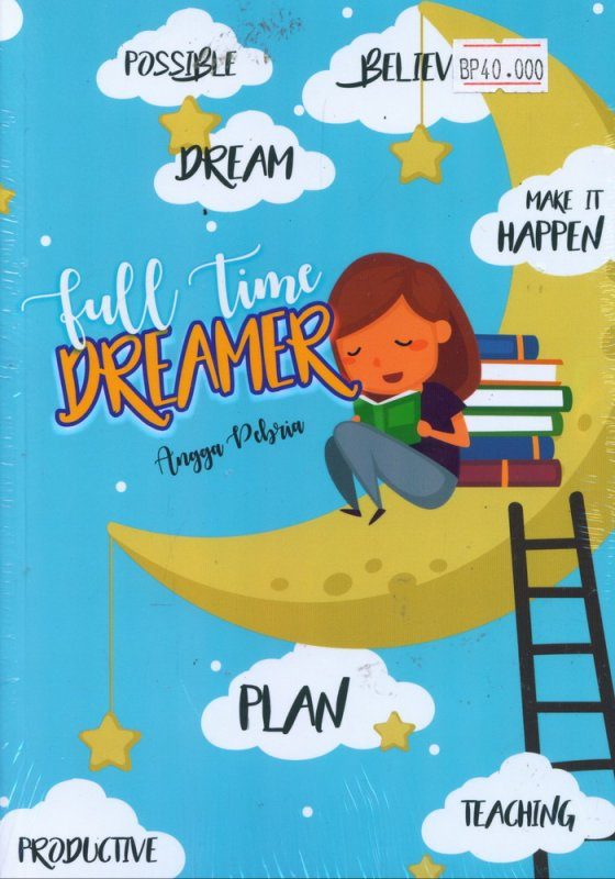 Cover Buku Fulltime Dreamer