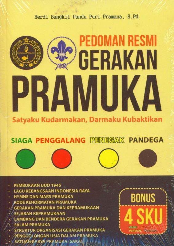 Cover Buku Pedoman Resmi Gerakan Pramuka