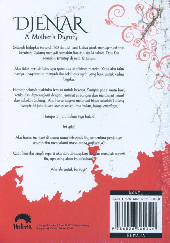 Cover Belakang Buku Djenar : A Mothers Dignity