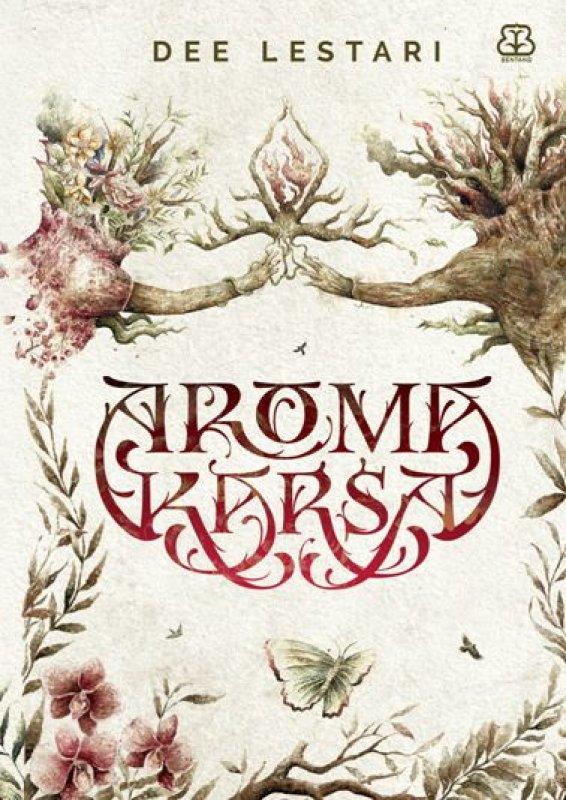 Cover Buku Aroma Karsa karya Dee Lestari - Edisi Reguler