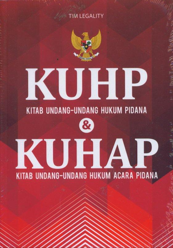 Cover Buku KUHP dan KUHAP
