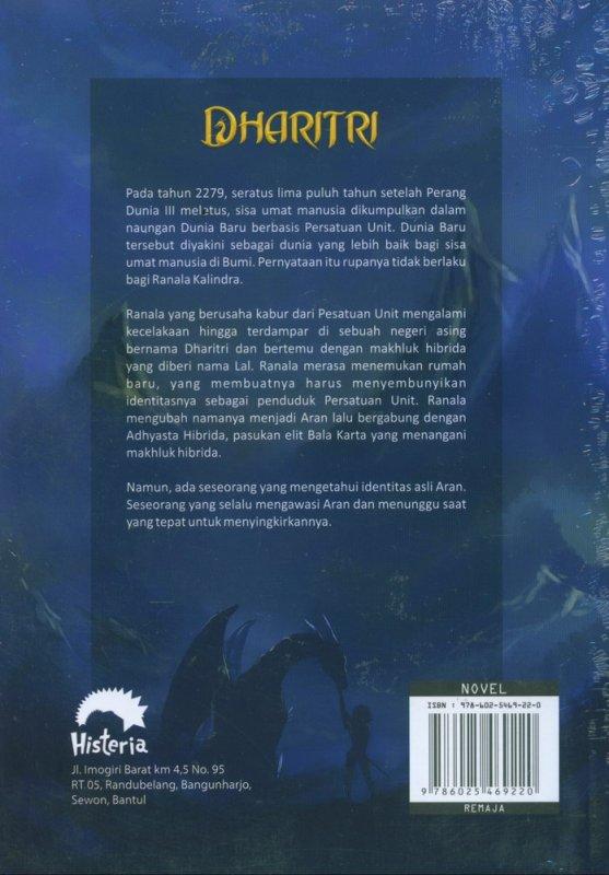 Cover Belakang Buku Dharitri