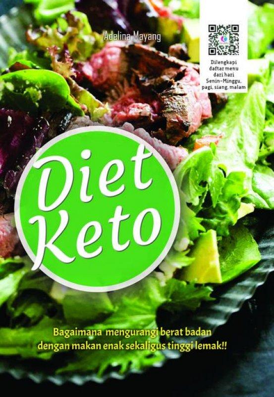 Cover Buku DIET KETO