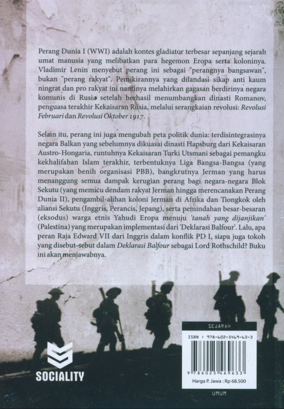 Cover Belakang Buku The Chronicles of The Great War: Kronik Perang Dunia I (1914-1918)