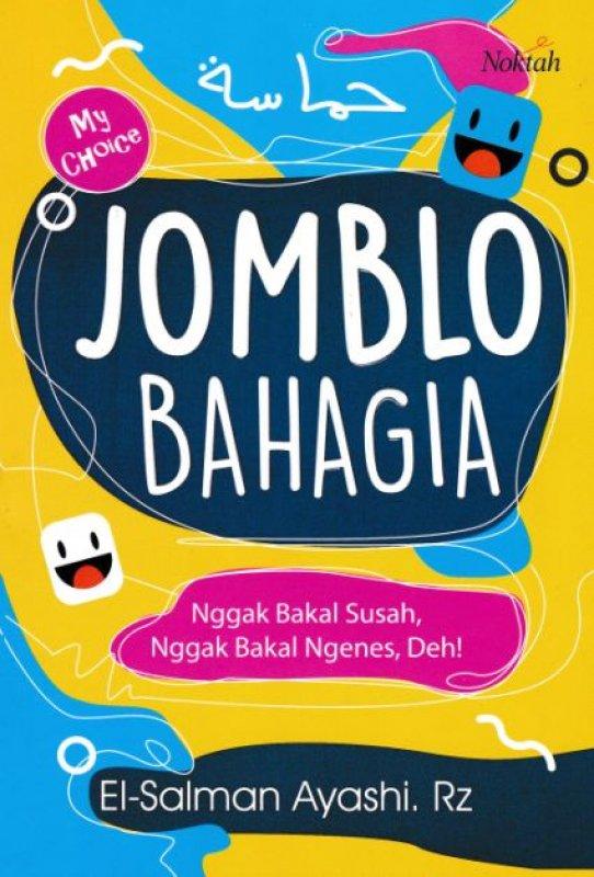 Cover Buku Jomblo Bahagia