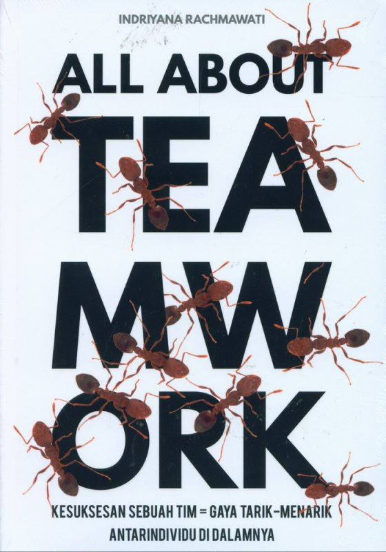 Cover Buku All About Teamwork