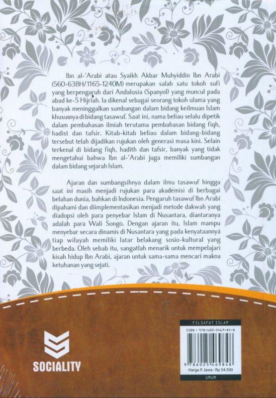 Cover Belakang Buku IBN ARABI