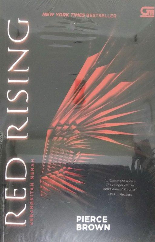 Cover Buku Red Rising #1: Kebangkitan Merah