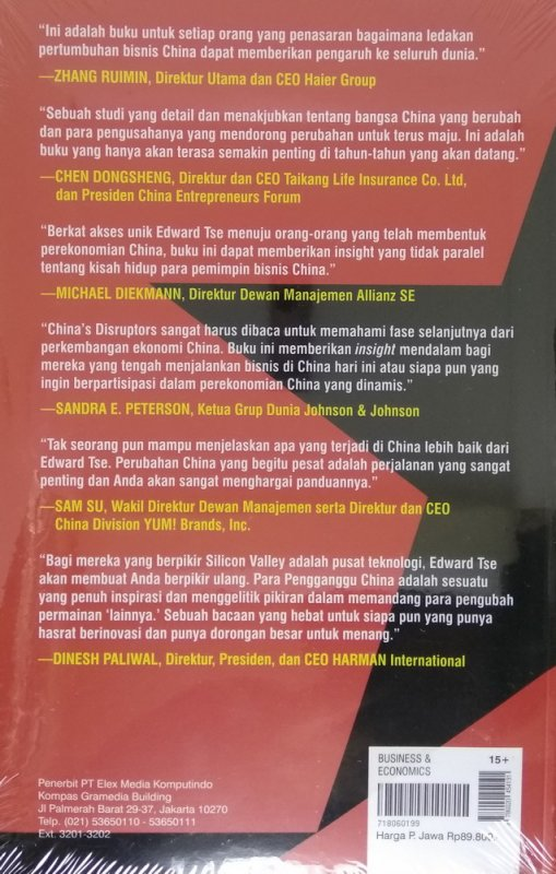 Cover Belakang Buku China s Disruptors