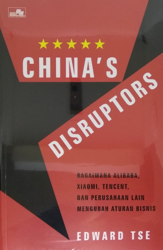 Cover Buku China s Disruptors