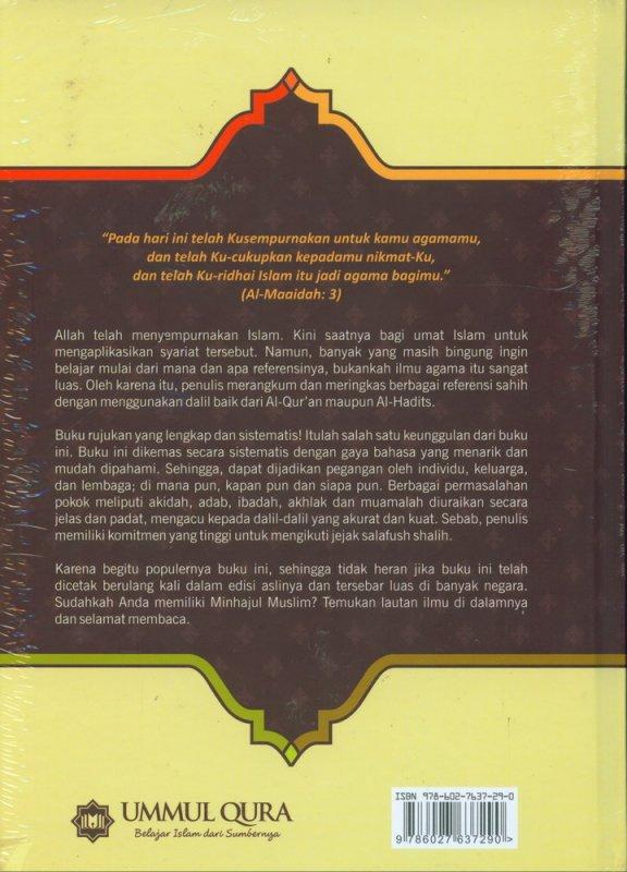 Cover Belakang Buku Pedoman Hidup Harian Seorang Muslim (Hard Cover)