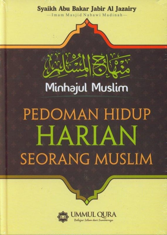 Cover Buku Pedoman Hidup Harian Seorang Muslim (Hard Cover)