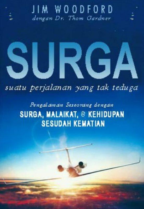 Cover Buku Surga Suatu Perjalanan Yang Tak Terduga