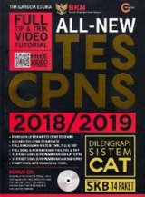 ALL-NEW TES CPNS 2018/2019 + CD (Promo Best Book)