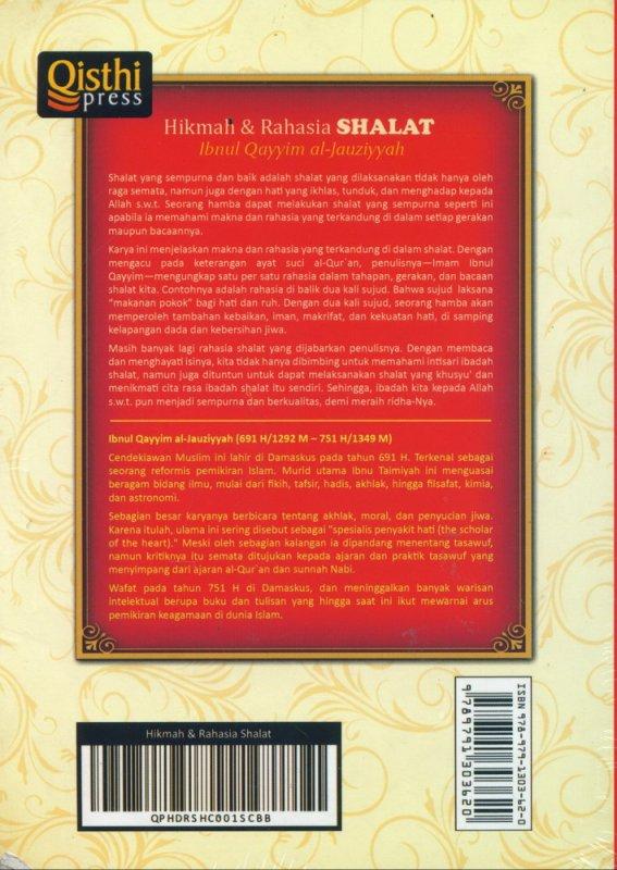 Cover Belakang Buku Hikmah & Rahasia Shalat