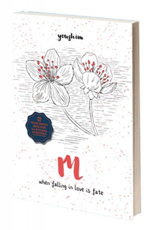 Cover Buku M: When Falling in Love is Fate