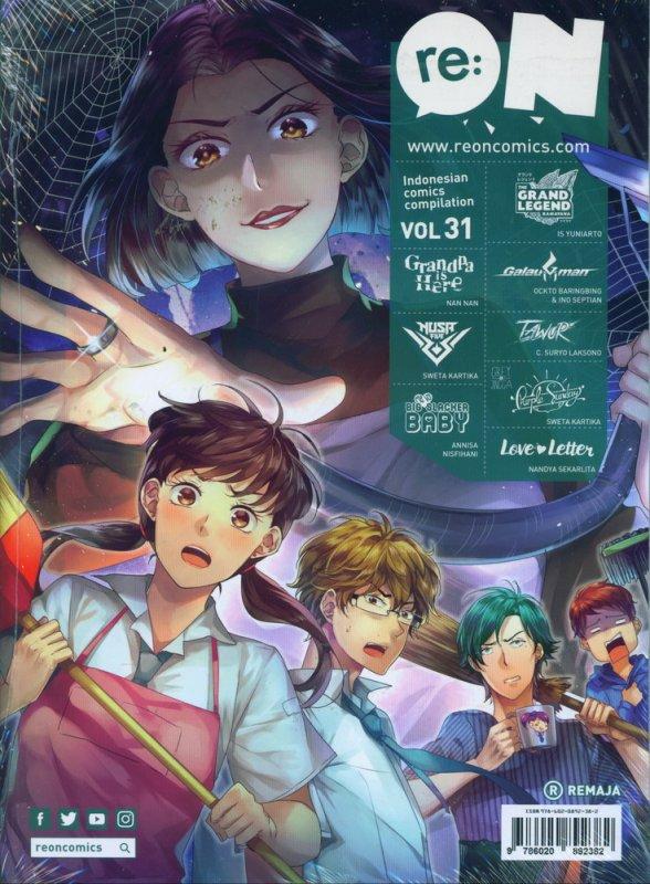 Cover Buku RE:ON COMICS VOL. 31 PERIODICAL COMICS COMPILATION