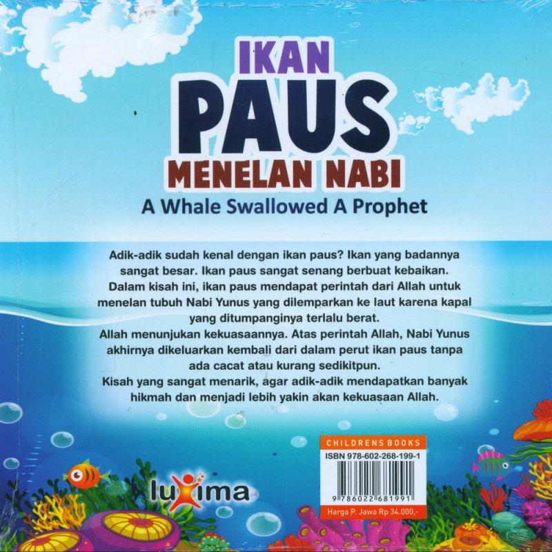 Cover Belakang Buku Ikan Paus Menelan Nabi - A Whale Swallowed A Prophet (Bilingual)