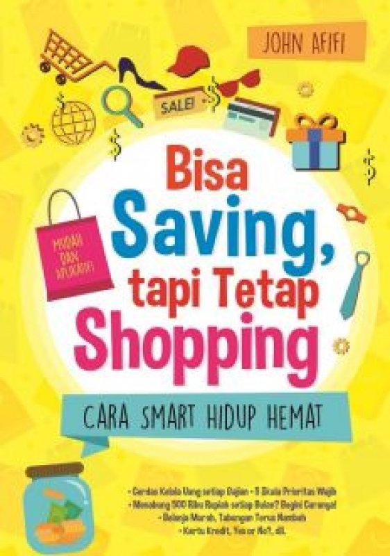 Cover Buku Bisa Saving Tapi Tetap Shopping