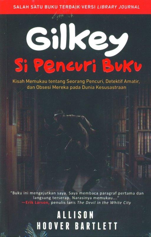 Cover Buku Gilkey Si Pencuri Buku