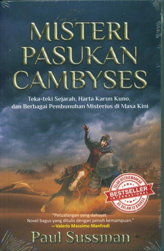 Cover Buku Misteri Pasukan Cambyses