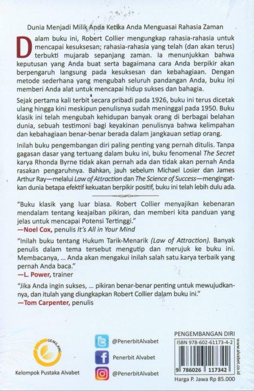 Cover Belakang Buku Rahasia Sukses Sepanjang Zaman