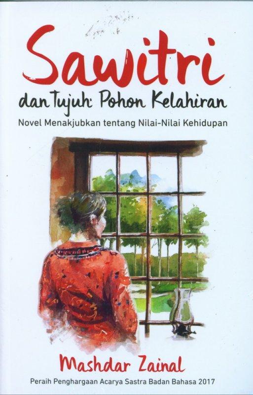 Cover Buku Sawitri dan Tujuh Pohon Kelahiran