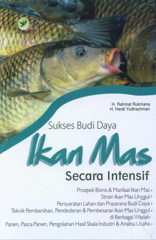 Cover Buku Sukses Budi Daya Ikan Mas Secara Intensif