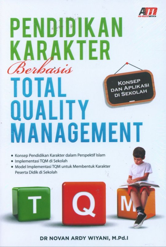 Cover Buku Pendidikan Karakter Berbasis Total Quality Management