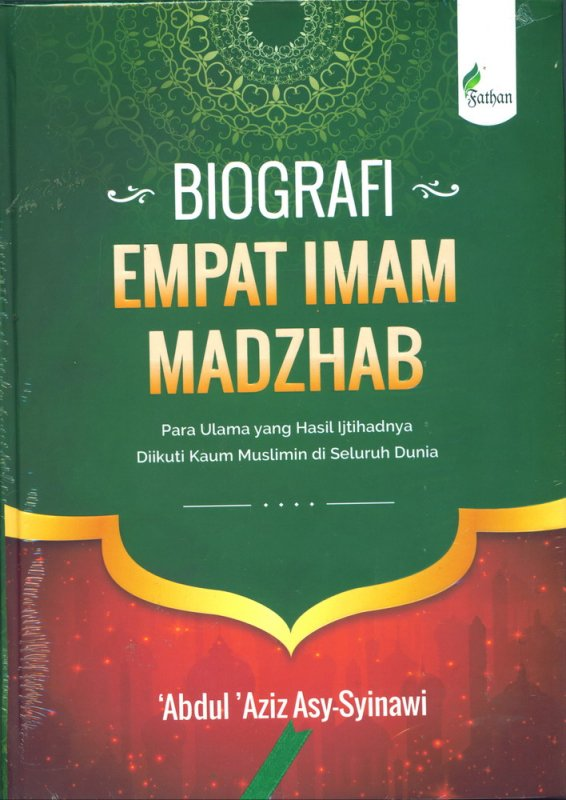 Cover Buku Biografi Empat Imam Madzhab (Hard Cover)
