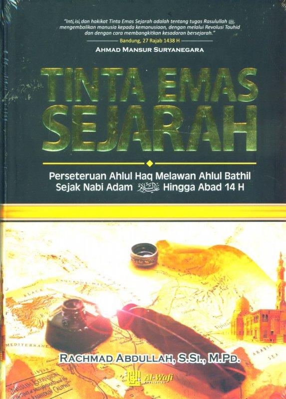 Cover Buku Tinta Emas Sejarah