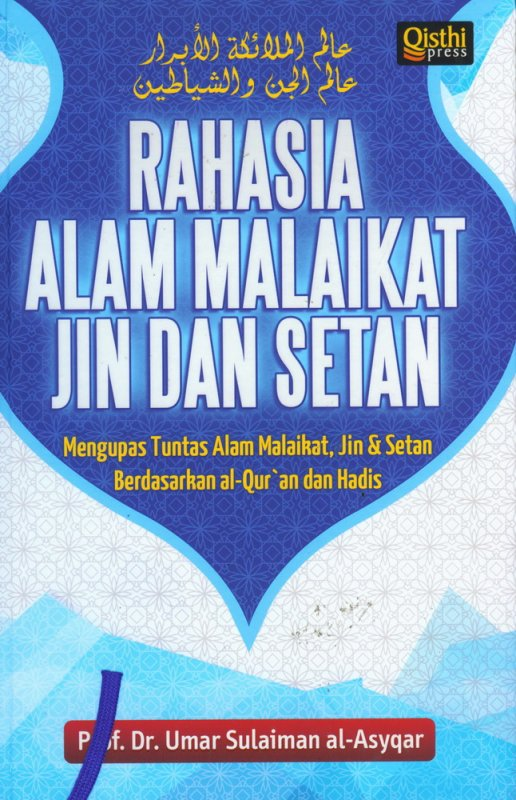 Cover Buku Rahasia Alam Malaikat Jin dan Setan (Hard Cover)