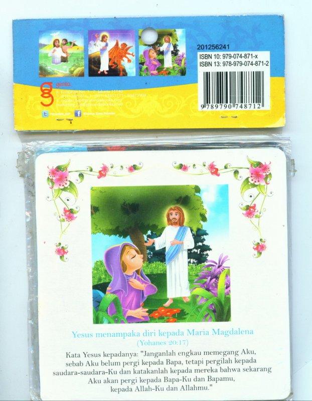 Cover Buku Bible Puzzle - Puzzle 9 Keping Dilengkapi kutipan Injil (Disc 50%)