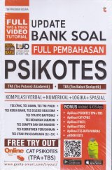 UPDATE BANK SOAL FULL PEMBAHASAN PSIKOTES TPA+TBS