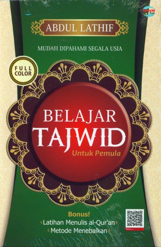 Cover Buku Belajar Tajwid Untuk Pemula