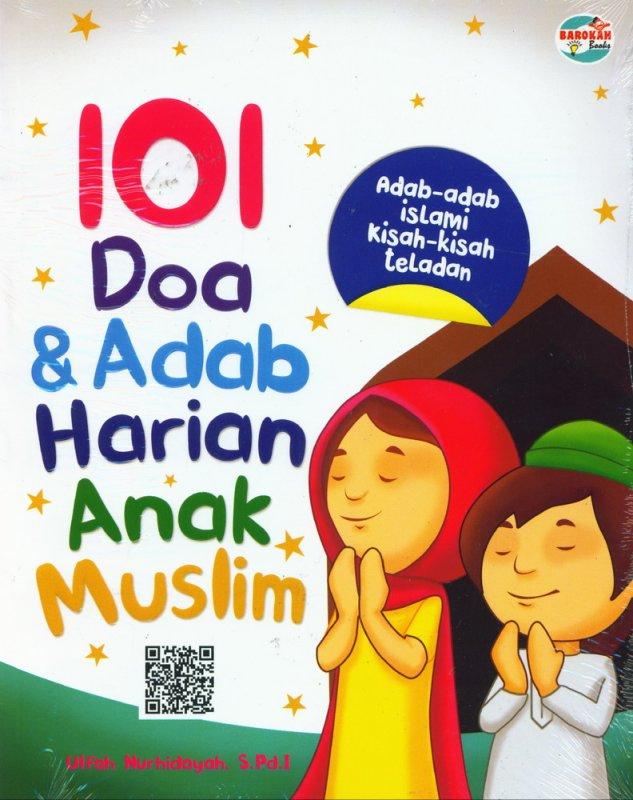 Cover Buku 101 Doa & Adab Harian ANak Muslim