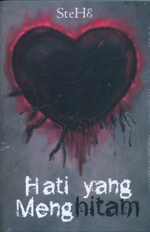 Cover Buku Hati yang Menghitam