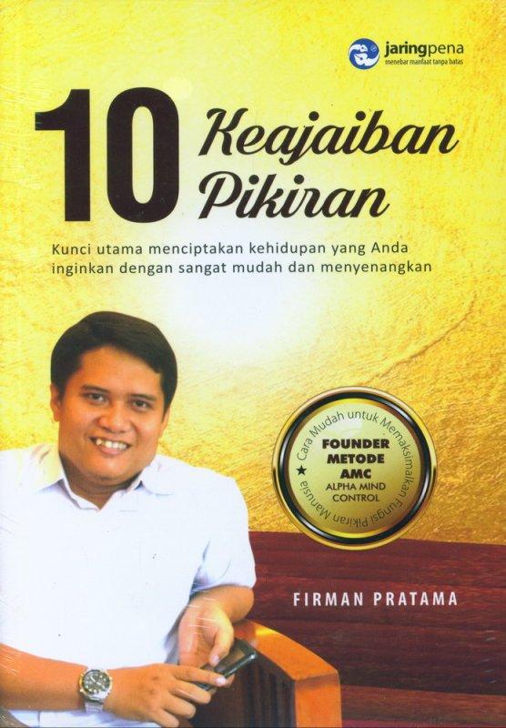 Cover Buku 10 Keajaiban Pikiran