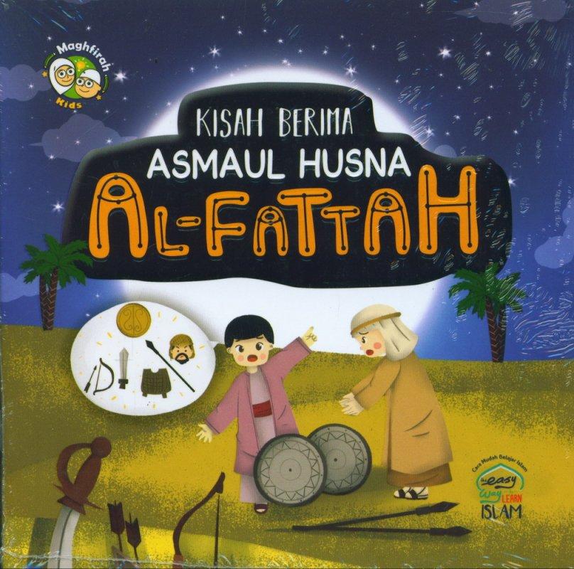 Cover Buku Kisah Berima Asmaul Husna AL-FATTAH