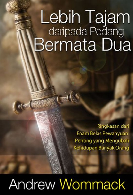 Cover Buku Lebih Tajam daripada Pedang Bermata Dua